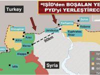 """ABD ve Rusya ortak; """"IŞİD'ten boşalan yerlere de PYD yerleştirilecek!"""""""