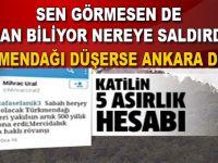Türkmendağı'nda Türk'ün, Anadolu'nun damarı kesiliyor!