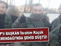MHP'li başkan İbrahim Küçük Türkmendağı'nda şehid düştü!