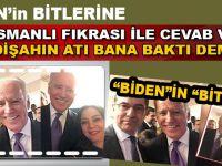 """Biden'in """"bitleri""""ne Osmanlı fıkrası ile cevab verdi!"""