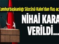 Cumhurbaşkanlığı Sözcüsü: PYD katılmayacak, dün nihai karar verildi