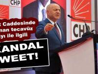 CHP'li Başkandan skandal tweet!