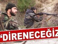 """Türkmenler; """"Direneceğiz!"""""""