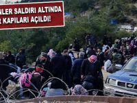 Türkmenlere sınır kapıları açıldı!