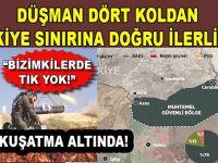 Türkiye'nin sınırına dayandılar; Arada 20 km mesafe kaldı, daha neyi bekliyorsunuz?