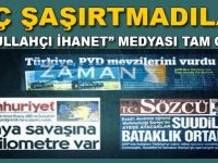 FETÖ Medyası şaşırtmadı; şimdi de YPG ve Rusya'nın sesi oldular!