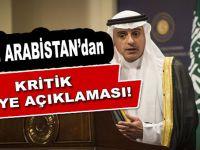 Suudi Arabistan'dan kritik Suriye açıklaması!