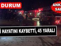 Ankara'da saldırı; Son durum; 18 kişi hayatını kaybetti, 45 yaralı var!
