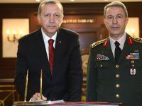 Cumhurbaşkanı Erdoğan, Genelkurmay karargâhında!