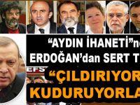 """Erdoğan'dan YPG'yi destekleyen """"aydın"""" kılıklı hainlere sert tepki!"""
