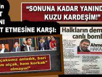 HDP'nin Ahmet Hakan'ı tehditlerine karşı, destek Cem Küçük'ten geldi!