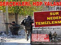 HDP yalanları ve SUR gerçekleri; Neden temizlenemiyor?