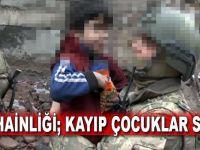 İşte PKK hainliği; Kayıp çocuklar Sur'dan çıktı