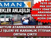 Kirli ve hain ittifak: Zaman, FETÖ, PKK!