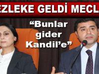 HDP'li vekillerin fezlekeleri Meclis'te