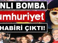 Canlı bomba Cumhuriyet muhabiri çıktı!