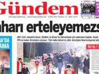 PKK gazetesinin o manşeti hakkında soruşturma başlatıldı