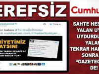 Cumhuriyet'ten Ankara provokasyonu!