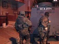 İstanbul'da terör operasyonu: 20 gözaltı
