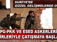 Suriye'de güzel şeyler de oluyor; PKK/YPG Esed güçlerine saldırdı