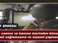 Asker'den PKK'lılara ilginç ananos; Sizlerin canı ve kanı üzerinden siyaset yapılmasına...