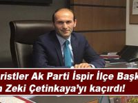 Teröristler AK Parti İspir İlçe Başkanı Çetinkaya'yı kaçırdı