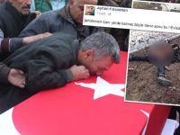 Oğlunu şehit eden teröristin fotoğrafını paylaştı