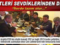 Onlar da YPG'ye kucak açtılar!