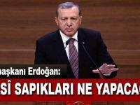 """Cumhurbaşkanı Erdoğan; """"Peki bu siyasi sapıkları ne yapacağız?"""
