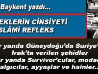 Sinan Baykent yazdı; Meleklerin Cinsiyeti ve İslâmî Refleks...