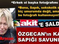 Hürriyet'in sapığı, tecavüzcü katili savundu, Yeni Akit'e saldırdı!