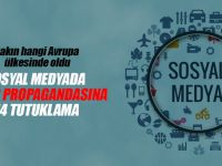 Sosyal medyada terör propagandasına 14 tutuklama!