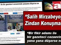 Mirzabeyoğlu İle Zindan Konuşmaları Yeni Akit'te