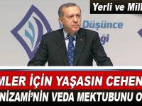 """Cumhurbaşkanı Erdoğan; """"Zalimler için yaşasın cehennem!"""""""