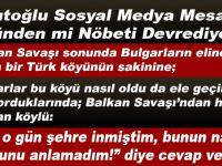"""""""Davutoğlu sosyal medya mesajları yüzünden mi nöbeti devrediyor?"""""""