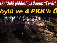 Diyarbakır'da bomba yüklü araç ellerinde patladı!