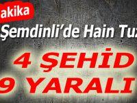 Son Dakika: Şemdinli'de 4 asker şehit