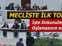 Mecliste ilk tokat; İşte dokunulmazlık oylamasının sonucu!