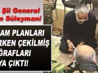 İranlı Generalin Suriye'de katliam planlarken çekilmiş fotoğrafları ortaya çıktı!