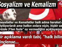 "Sosyalizm, Kemalizm ve ""Bilinçsiz halk..."""