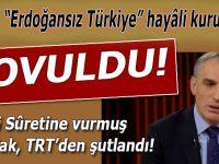 """""""Erdoğansız Türkiye"""" hayâli kuranlardan fırıldak Mustafa TRT'den kovuldu!"""