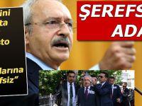 """Kılıçdaroğlu, yumurtalı protesto yapan şehid yakınlarına """"şerefsiz!"""" dedi!"""