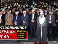 Fethin yıldönümünde, Ayasofya'da tarihi anlar; Binlerce kişi namaz kıldı!
