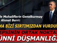"""Berri: """"Hepsinin ortak noktası Sünni düşmanlığı!"""""""