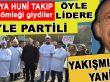 Yine CHP'liler; Öyle lidere böyle partili!