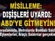 Türkiye'den ABD'ye anında misilleme; ABD'ye gitmeyin, tehlikeli!