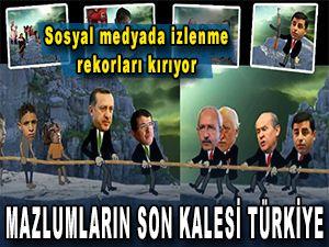 Mazlumların son kalesi Türkiye